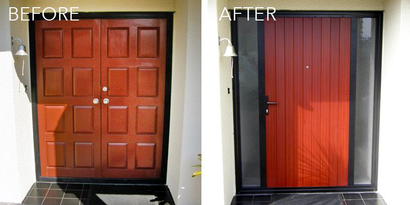 Front entry door - Revive